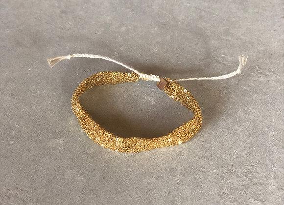 Secondskin bracelet S Indian gold