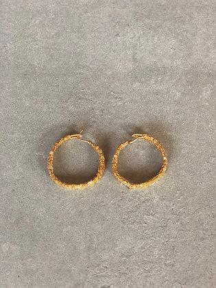 Wanda earrings Indian gold M