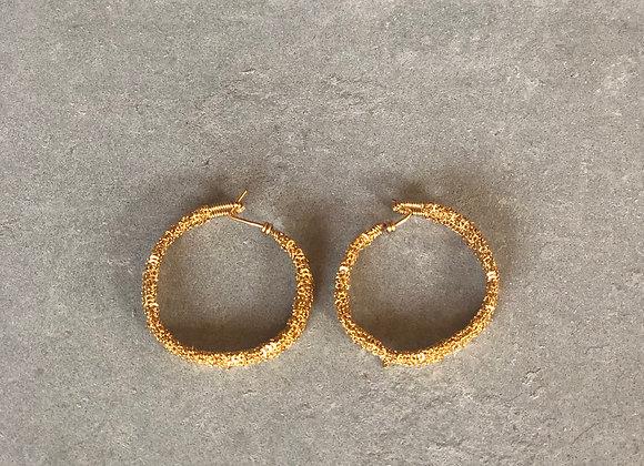 Wanda boucles d'oreilles M Indian gold