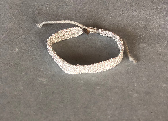Secondskin bracelet S Blanc