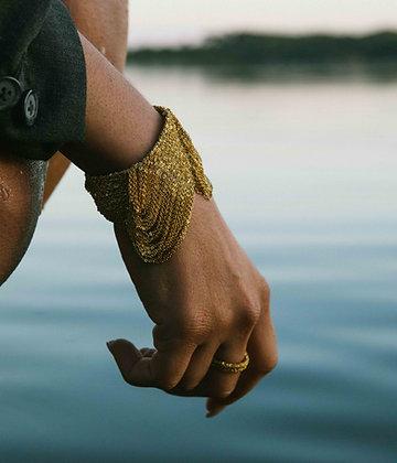 Empire bracelet Indian gold