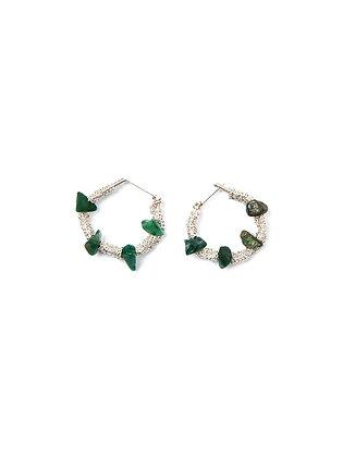 Cleo earrings white