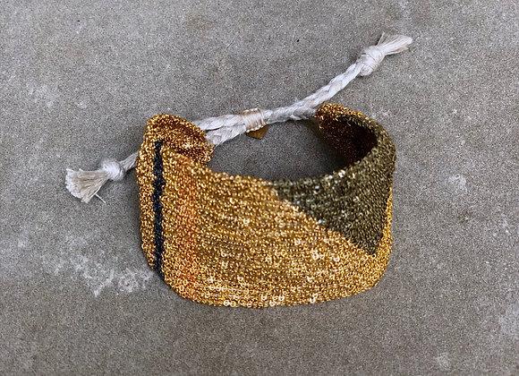 Forma bracelet Indian gold L