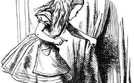 El conejo y el espejo: al otro lado de Alicia