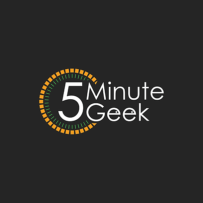 5 Minute geek Logo Orange.png