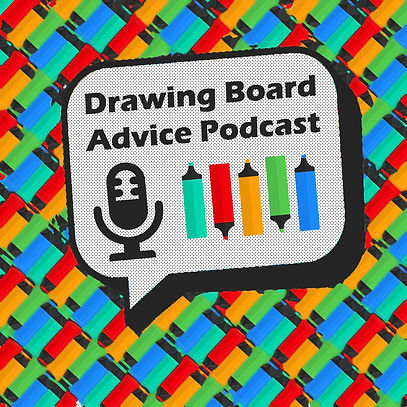 Drawing Board Advice Podcast New Logo Jp