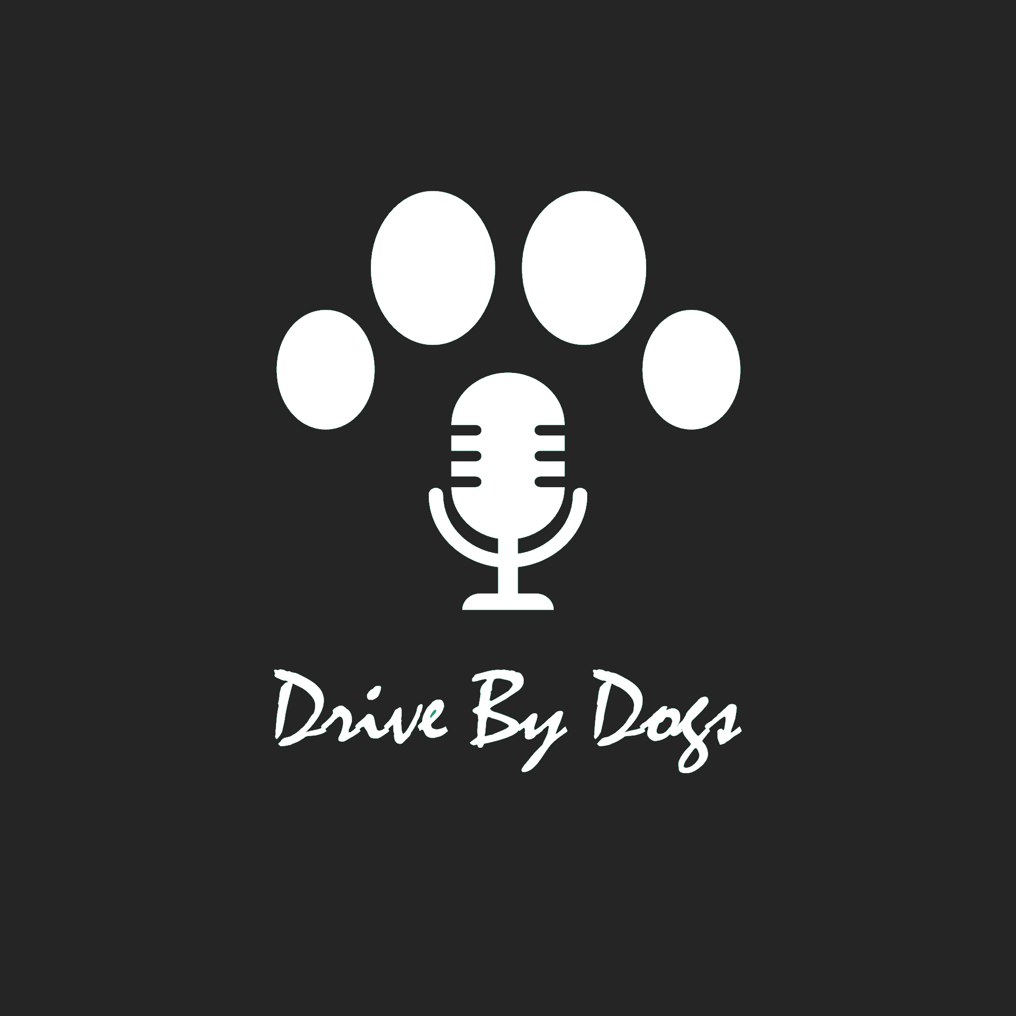 Drive BY DOgs Logo Black Mic (1)
