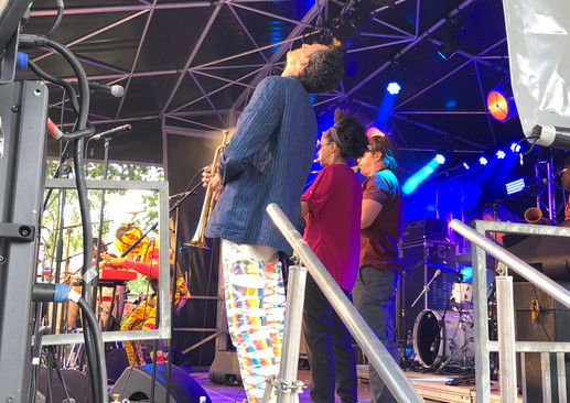with Antibalas in France