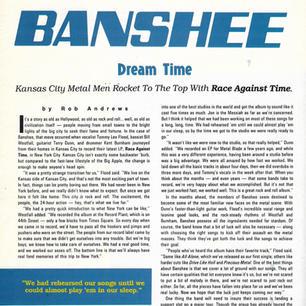Banshee Hit Parader 10.89