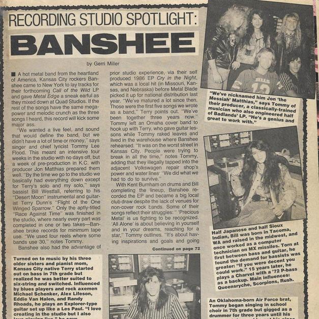 Banshee Metal Edge