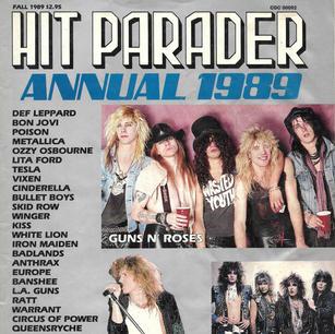 Banshee Hit Parader Cover Fall 89