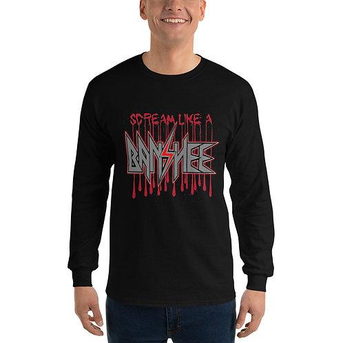 Banshee - Scream Like A Banshee - Men's Long Sleeve Shirt