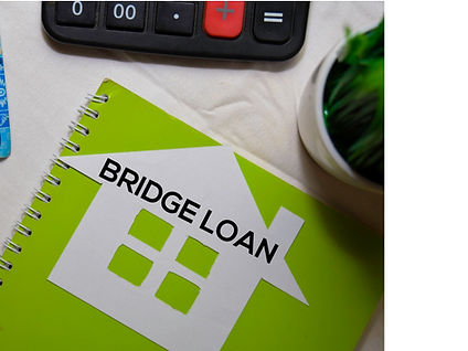 bridge-loan-text-on-paper-house-and-indo