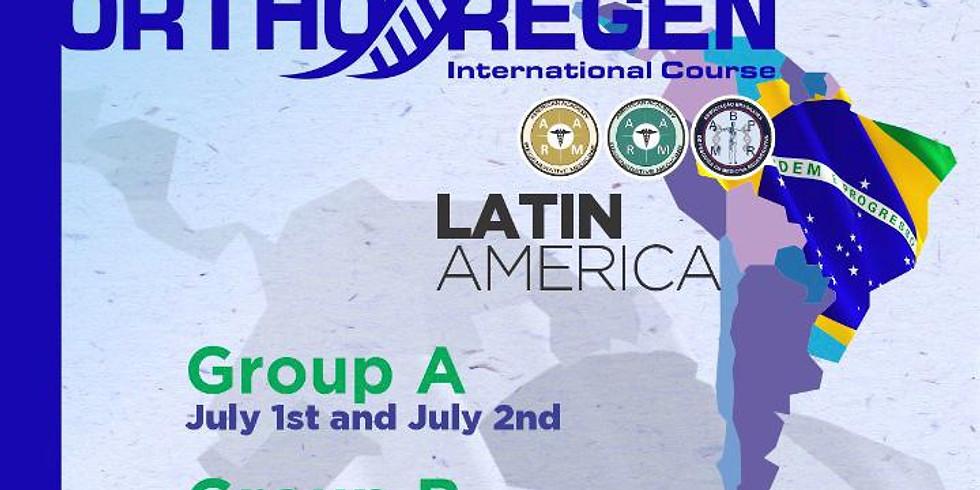 GROUP A - LATIN AMERICA ORTHOREGEN - Módulo Latino América