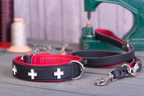 Swiss Cross Collar