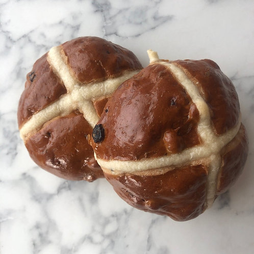 Pack of 2 Hot Cross Buns