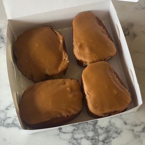 Box of 4 Fudge Doughnuts (frozen)
