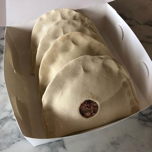 4-Pack of Un-Baked Onion Bridies (frozen)