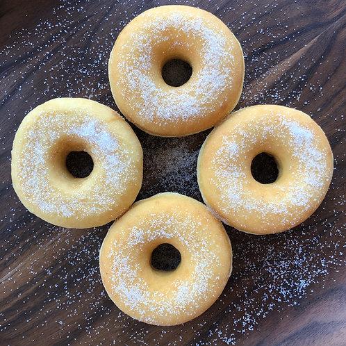 4-pack of Sugar Doughrings