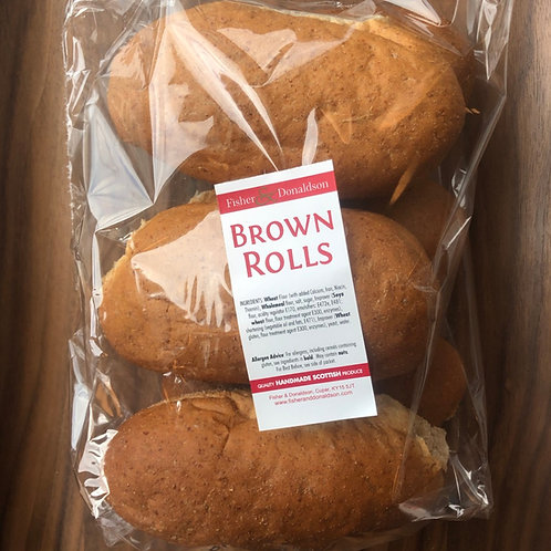 6-pack of Brown Rolls