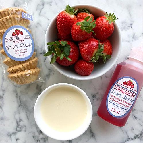 DIY Strawberry Tart Kit