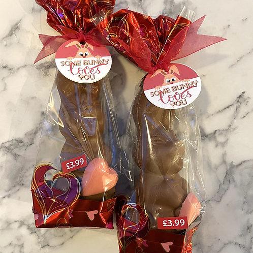 Valentine's Belgian Chocolate Bunny