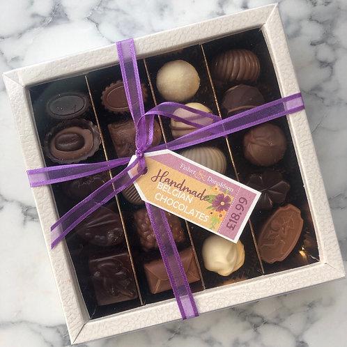 Large Square box of chocolates