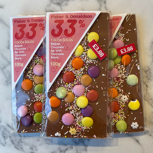 Belgian Chocolate Smarties Bar