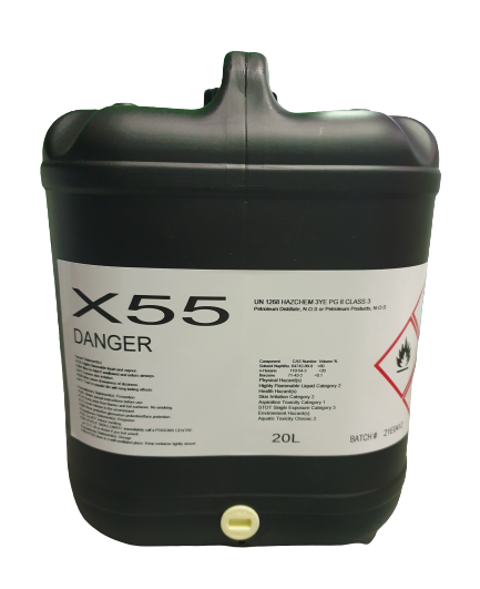X55 Cleaning Solvent