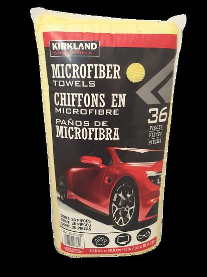 Microfibre Cloths 36 Pack