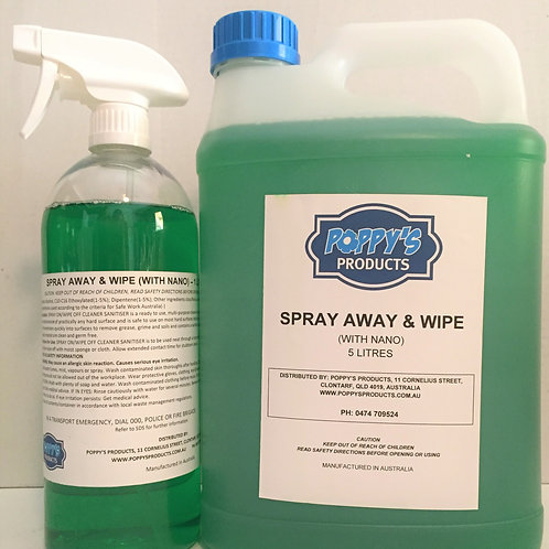 Spray Away & Wipe (with Nano)