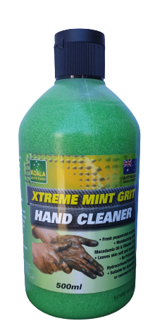 Mint Grit Hand Cleaner