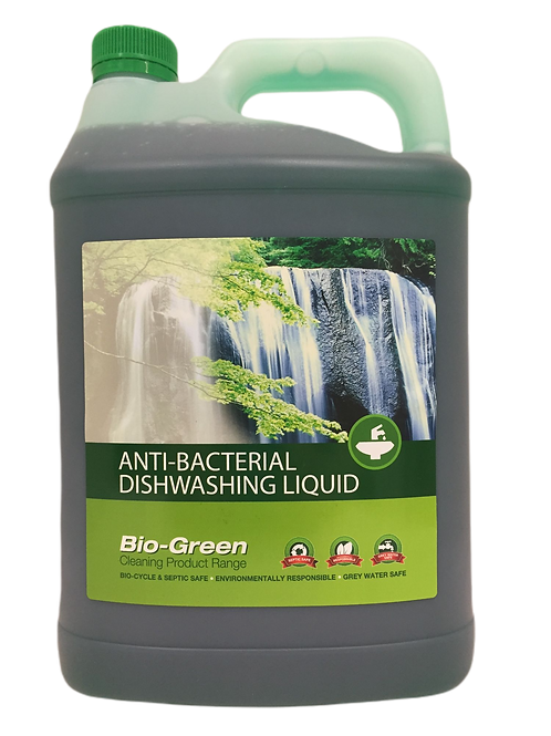 Bio-Green Dishwash Liquid - Anti-Bacterial