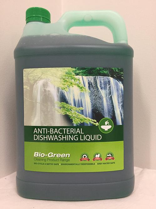 Bio-Green Dishwash Liquid - Anti-Bacterial