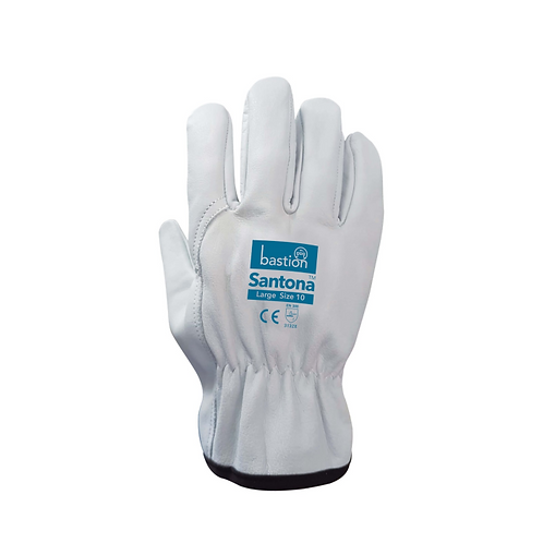Santona Cow Grain Leather Rigger Gloves - 12 Pack