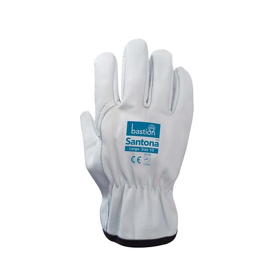Santona Cow Grain Leather Rigger Gloves - 12 Pack