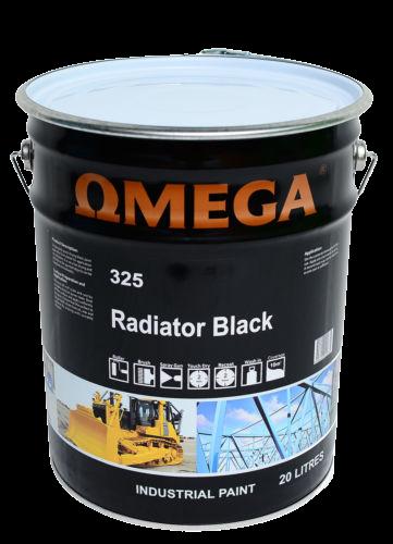 Omega Radiator Black 20L