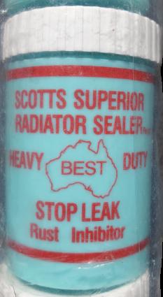 Scotts Stop Leak Radiator Sealer