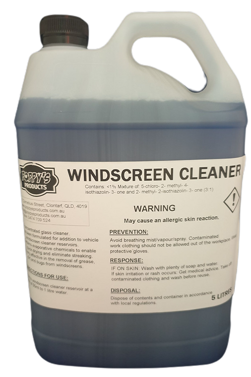 Windscreen Washer Fluid Concentrate