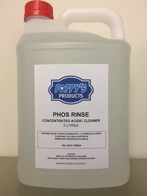 Phos Rinse Concentrated Acid Cleaner