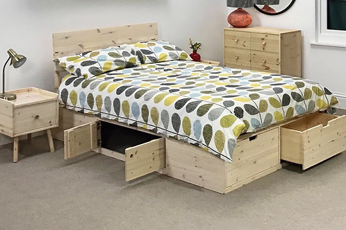 Scandi Storage Bed - Shown in Double