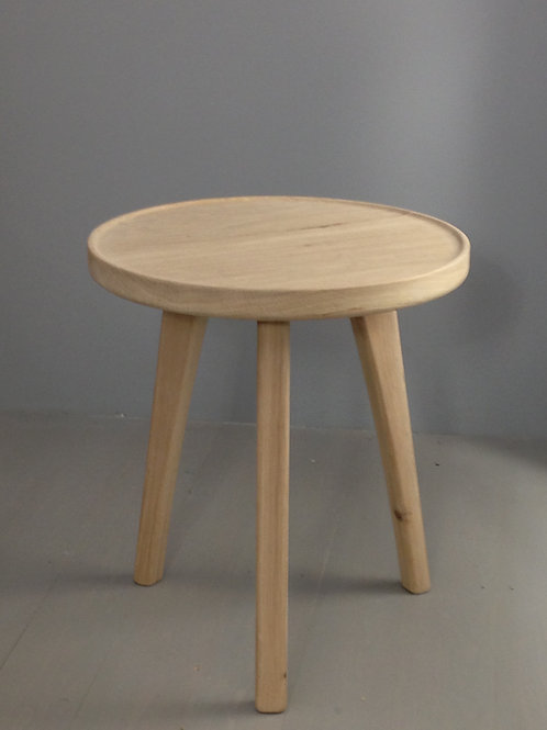 Riber-solid Oak-Side table-Tray-1