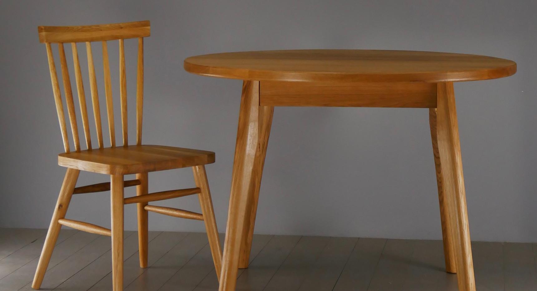 HX Solid Oak Chair