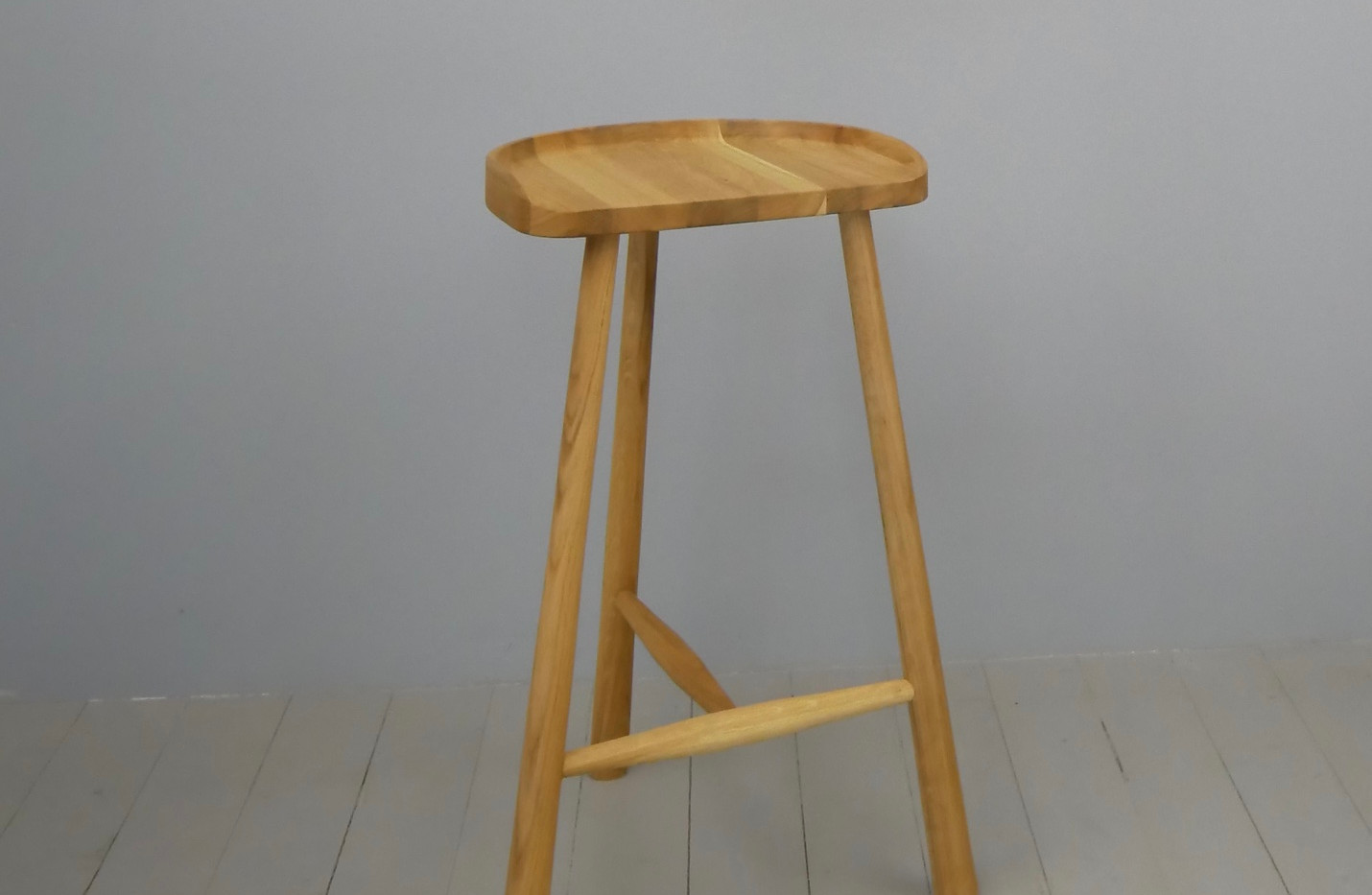 CX Oak Stool