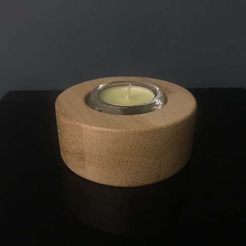 Oak Tealight Holder