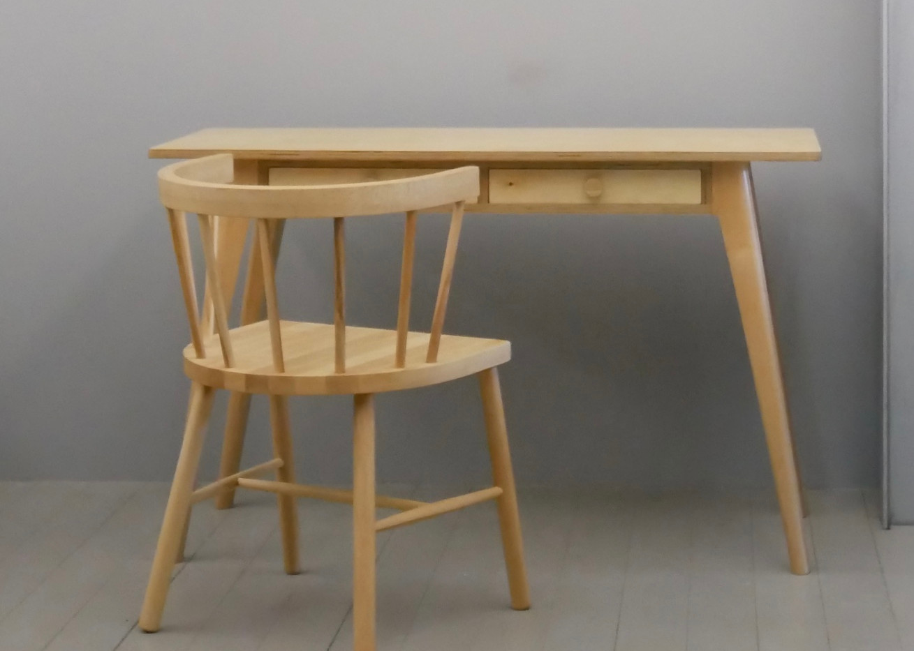 AX Desk with Ponsi Chair