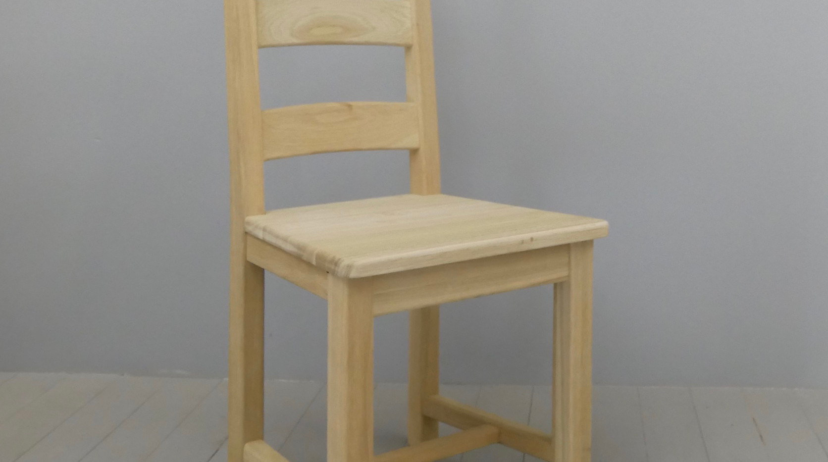Farmhouse Solid Oak Dining Chair