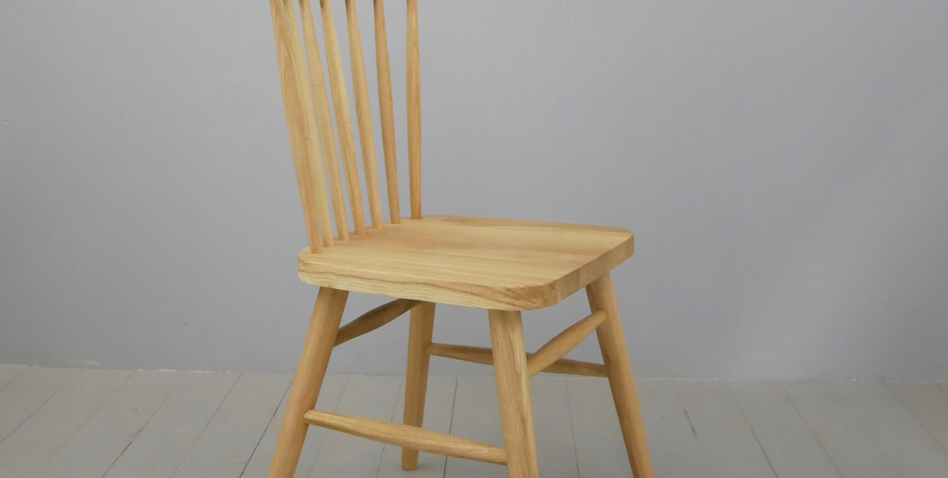 HX  Solid Oak Dining Chair