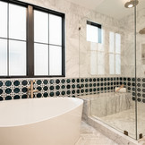 Master Tub & Shower