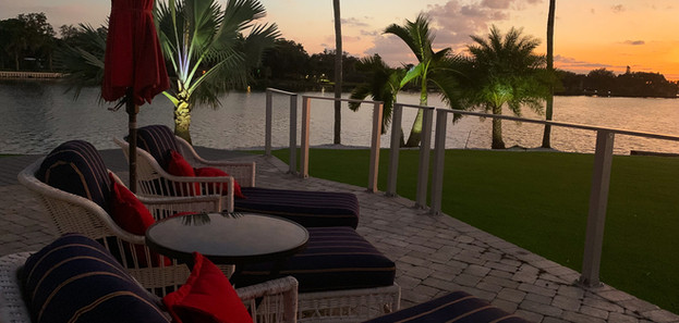 Grace River Island Resort - Evening Suns